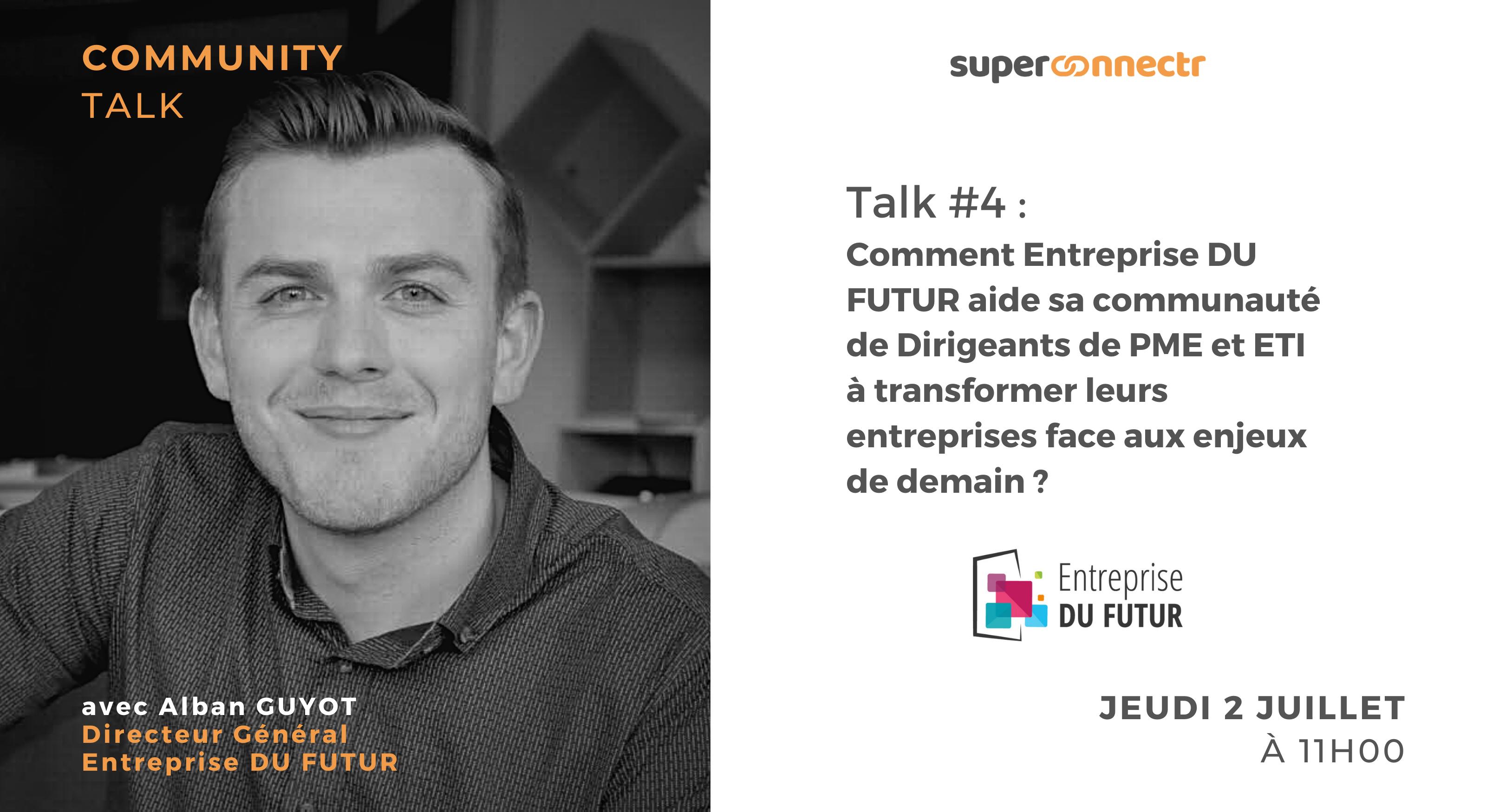 """Interview : """"Comment Entreprise DU FUTUR aide sa communauté de dirigeants de PME et ETI à transformer leurs entreprises face aux enjeux de demain ?"""""""
