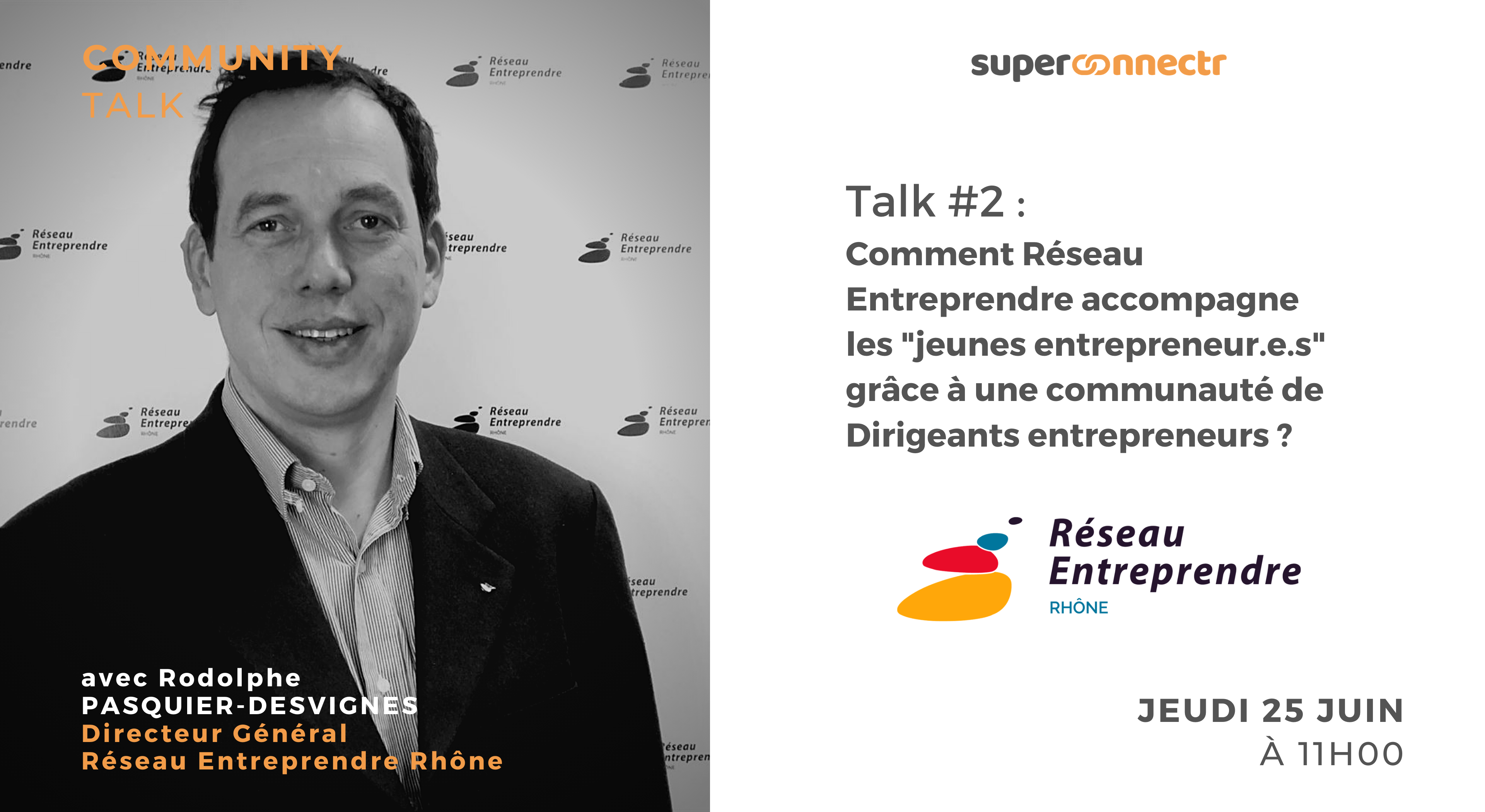 """Interview : """"Comment Réseau Entreprendre accompagne les """"jeunes entrepreneur.e.s"""" grâce à une communauté de dirigeants entrepreneurs ?"""""""