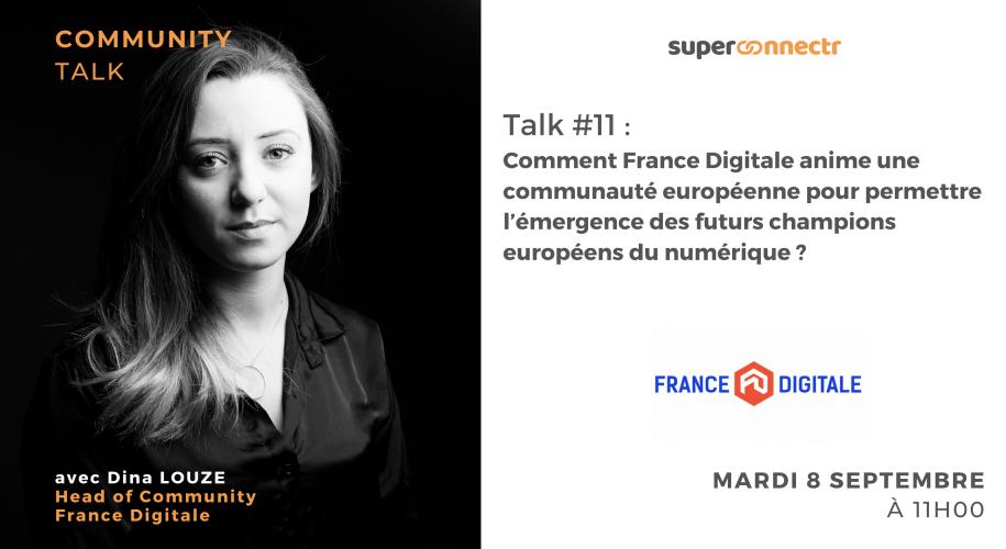"""Interview : """"Comment France Digitale anime une communauté européenne pour permettre l'émergence des futurs champions européens du numérique ?"""""""