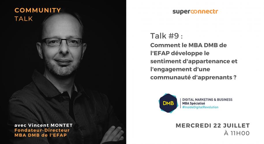 """Interview : """"Comment le MBA DMB de l'EFAP développe le sentiment d'appartenance et l'engagement d'une communauté d'apprenants ?"""""""