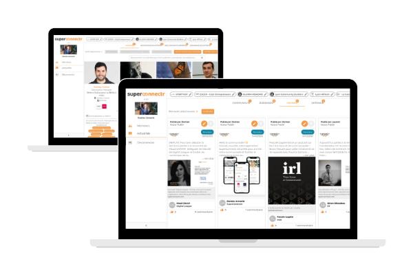 Plateforme gestion de communauté networking