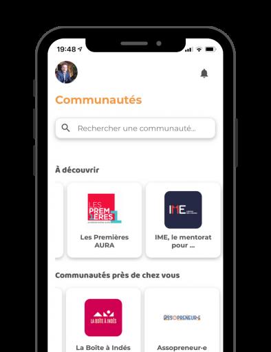 Application-networking-communautes-professionnelles